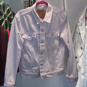 Light lavender Levi denim jacket